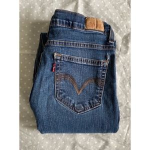 Levis 512 mom jeans